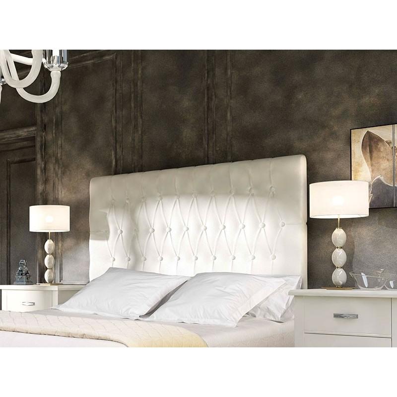 Cabeceros cama tapizados awesome cabecero de cama - Cabezal de cama tapizado ...