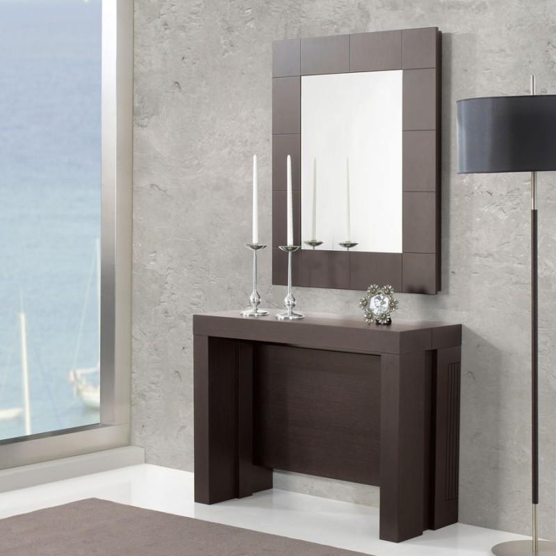Comprar consola convertible mesa con espejo brisa 821 for Espejos para consolas