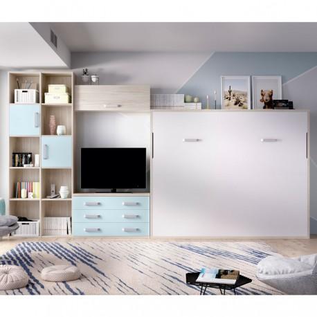 Dormitorio Dexer Cielo