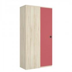 Armario rincón 1 fijo 1 puerta batiente izquierda